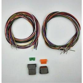 Cable-Engineer DT set: 12-Pos. Receptacle & Plug  + 24x 2m. 1,5mm2 kabel