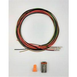 Cable-Engineer DT set: 4-Pos. Plug + 4x 2m. 1,5mm2 kabel