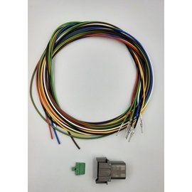 Cable-Engineer DT set: 8-Pos.Receptacle + 8x 2m. 0,75mm2 kabel