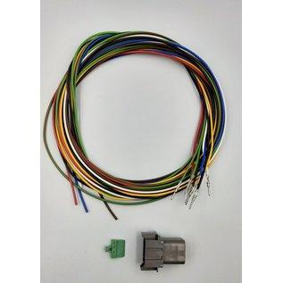 Cable-Engineer Deutsch DT Pigtail-set: 8-Pos. Receptacle (vrouw)  met 8x 2meter 0,75mm2 FLRY-B kabel