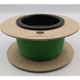 Cable-Engineer 0,50mm2 - FLRY-B voertuigkabel - 100m. op rol  Kleur GROEN