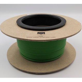 Cable-Engineer FLRY-B kabel 0,50mm2 - flexibele voertuigkabel op rol met 100 meter Kleur GROEN