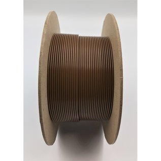 Cable-Engineer FLRY-B kabel 1,0mm2  voertuigkabel  op rol met 100m. Kleur BRUIN