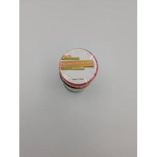 5 Rollen gekleurde isolatie of PVC tape van 15mm breed en 10meter lang - Copy
