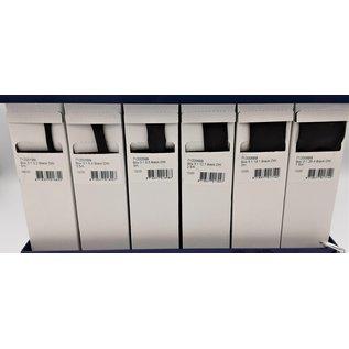 Cable-Engineer Stalen display met 6 verschillende maten dubbelwandige krimpkous met krimpratio 3:1