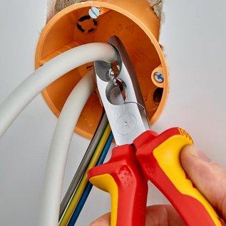 Knipex Multifunctionele strip-, knip en ontmantelingstang van Knipex met VDE 1000V. bescherming