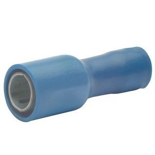 Cable-Engineer Kogel kabelschoen blauw 4mm (vrouw) voor draad Ø 1,5-2,5mm2