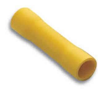 Cable-Engineer Splice kabelschoenen / Butt connector Geel voor draad Ø  4,0 - 6,0 mm2