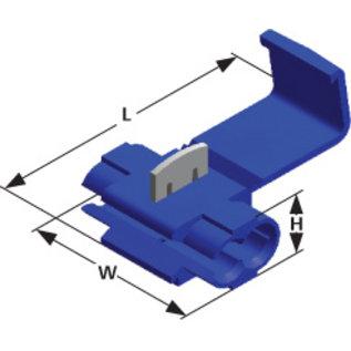Cable-Engineer Scotch Lock Quick Splice kabel connector Blauw voor draad Ø 1,0 - 2,5 mm2