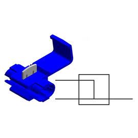 Cable-Engineer Scotch Lock Quick Splice  Blauw voor draad Ø  1,0  - 2,5 mm2