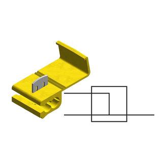 Cable-Engineer Scotch Lock Quick Splice kabel connector Geel voor draad Ø 4,0 - 6,0 mm2