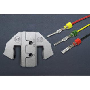 Cable-Engineer Multi Krimptang met krimpprofiel voor AMP Superseal open-barrel contacten van 0.35-0.5 mm2 en 1.5 mm2