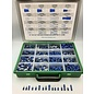 """Cable-Engineer Kit """"BIG BLUE"""" met 1900 professionele kabelschoenen in 16 verschillende uitvoeringen"""