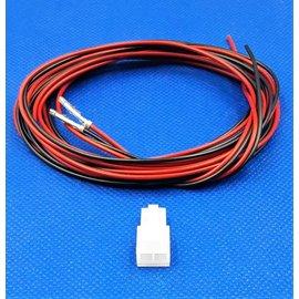 Molex Molex Minifit Receptacle - 2Pos.(1-Rij) + 2x 2m. kabel