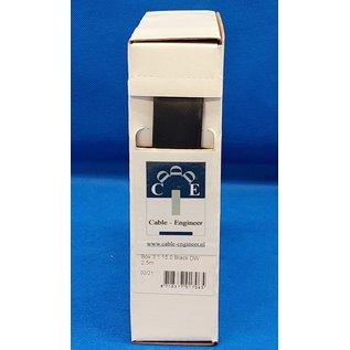 Cable-Engineer Box met 2,5meter dubbelwandige krimpkous met lijm. Ø 15 mm met krimpratio : 3:1