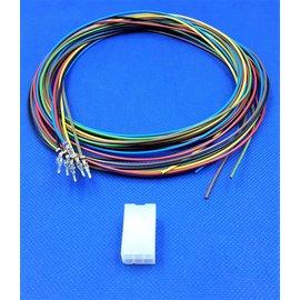 Molex Molex Minifit Plug - 6Pos.(2-Rij) + 6x 2m. kabel