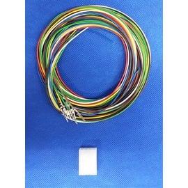 Molex Molex Minifit Plug - 8Pos.(2-Rij) + 8x 2m. kabel