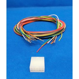 Molex Molex Minifit Plug - 10Pos.(2-Rij) + 10x 2m. kabel