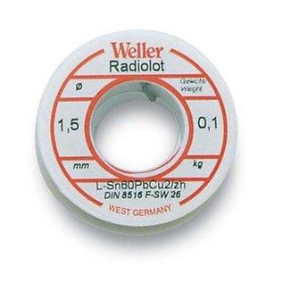 WELLER Weller BL 60/40 -100 Soldeer, 1,5mm, 100gr. op rol