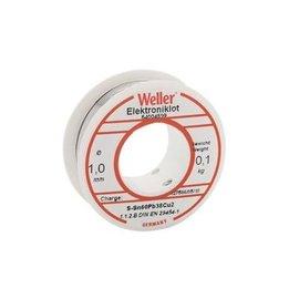 WELLER Weller BL 60/40 -100 Soldeer, 1,0mm, 100gr.