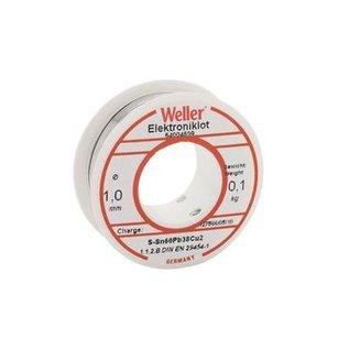 WELLER Weller BL 60/40 -100 Soldeer, 1,0mm, 100gr. op rol