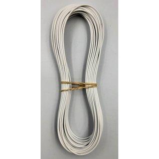Cable-Engineer FLRY-B kabel 0,50mm2 - flexibele voertuigkabel - 10 meter Kleur Wit