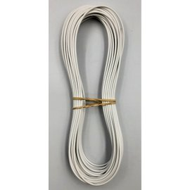 Cable-Engineer 0,75mm2 - FLRY-B kabel - 10 meter - Wit
