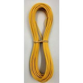 Cable-Engineer 1,0mm2 - FLRY-B kabel - 10 meter - Geel