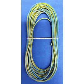 Cable-Engineer 1,5mm2 - FLRY-B kabel - 10 meter - Blauw/Geel
