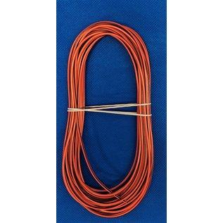 Cable-Engineer FLRY-B kabel 1,0mm2 - flexibele voertuigkabel - 10 meter Kleur Oranje/Bruin