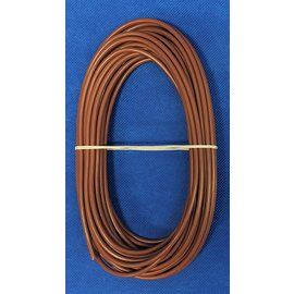 Cable-Engineer 4,0mm2 - FLRY-B kabel - 10 meter - Bruin
