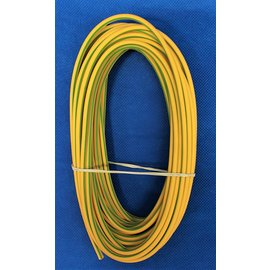 Cable-Engineer 4,0mm2 - FLRY-B kabel - 10 meter - Geel/Groen