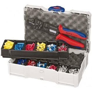 Knipex KNIPEX Krimp-assortiment kabelschoenen met Multi-krimptang