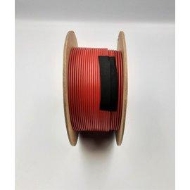 Cable-Engineer 1,0mm2 - FLRY-B kabel  - 100meter  Kleur Rood
