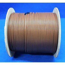 Cable-Engineer 2,5mm2 - FLRY-B kabel - 100meter - Kleur Bruin