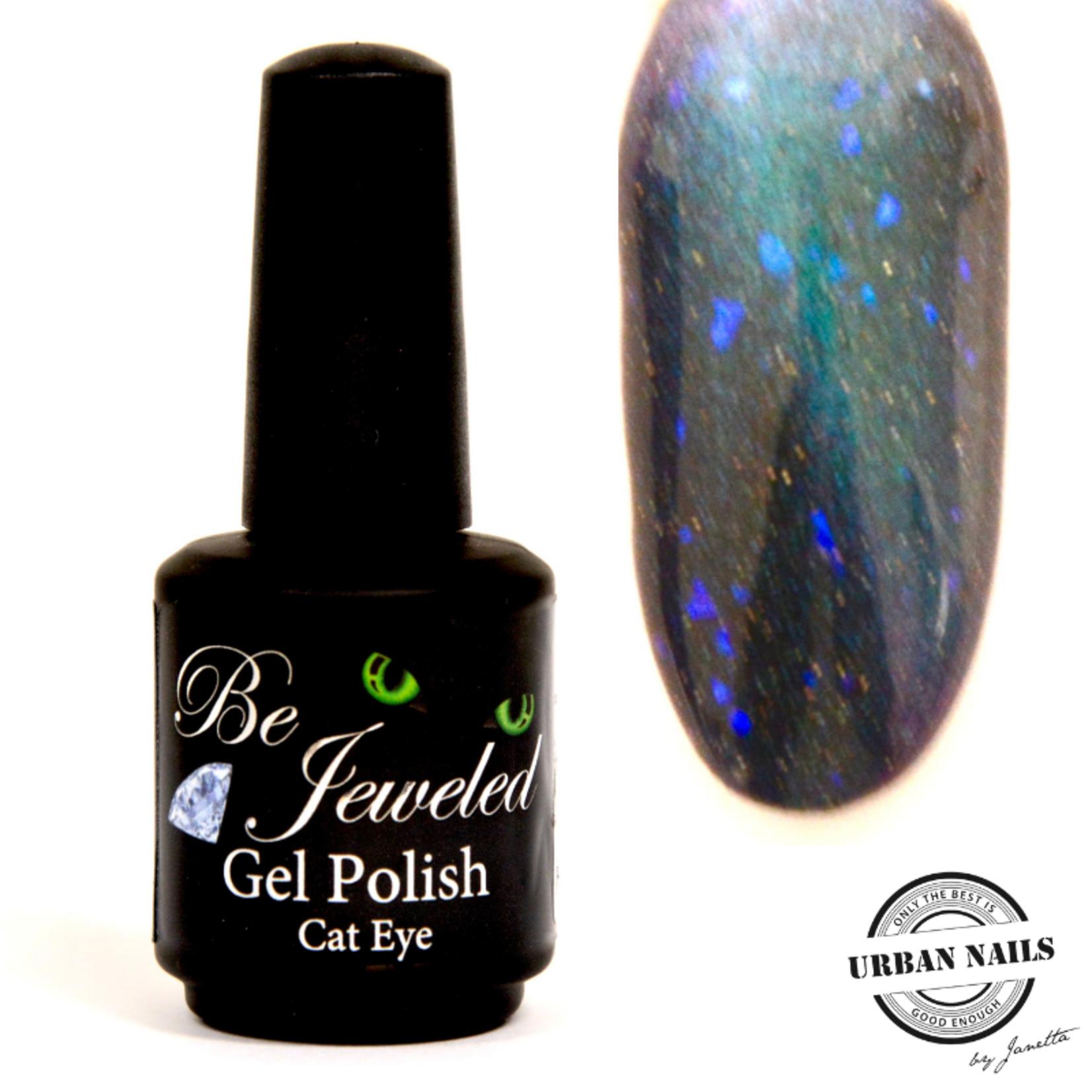 Urban Nails Be Jeweled Cateye 13 Chameleon Turquoise