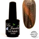 Urban Nails Be Jeweled Cateye 21 Bruin Met Glitter