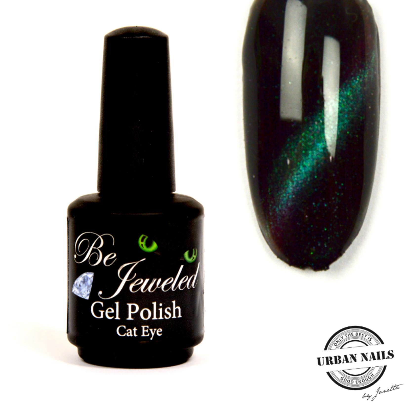 Urban Nails Be Jeweled Cateye 25 (Chameleon) Blauw Groen