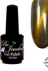 Urban Nails Be Jeweled Cateye 02 Grijs Met Goud