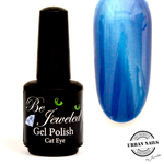 Urban Nails Be Jeweled Cateye 04 blauw