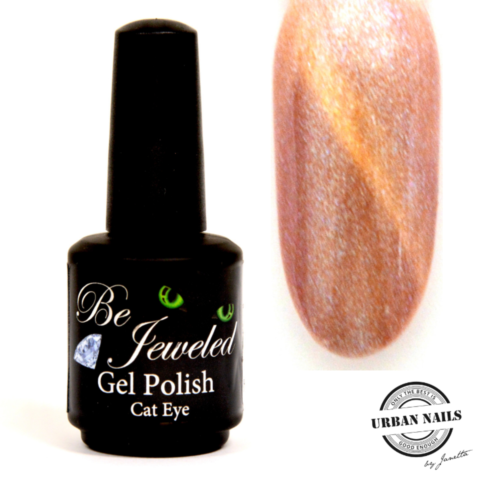 Urban Nails Be Jeweled Cateye 10 Brons