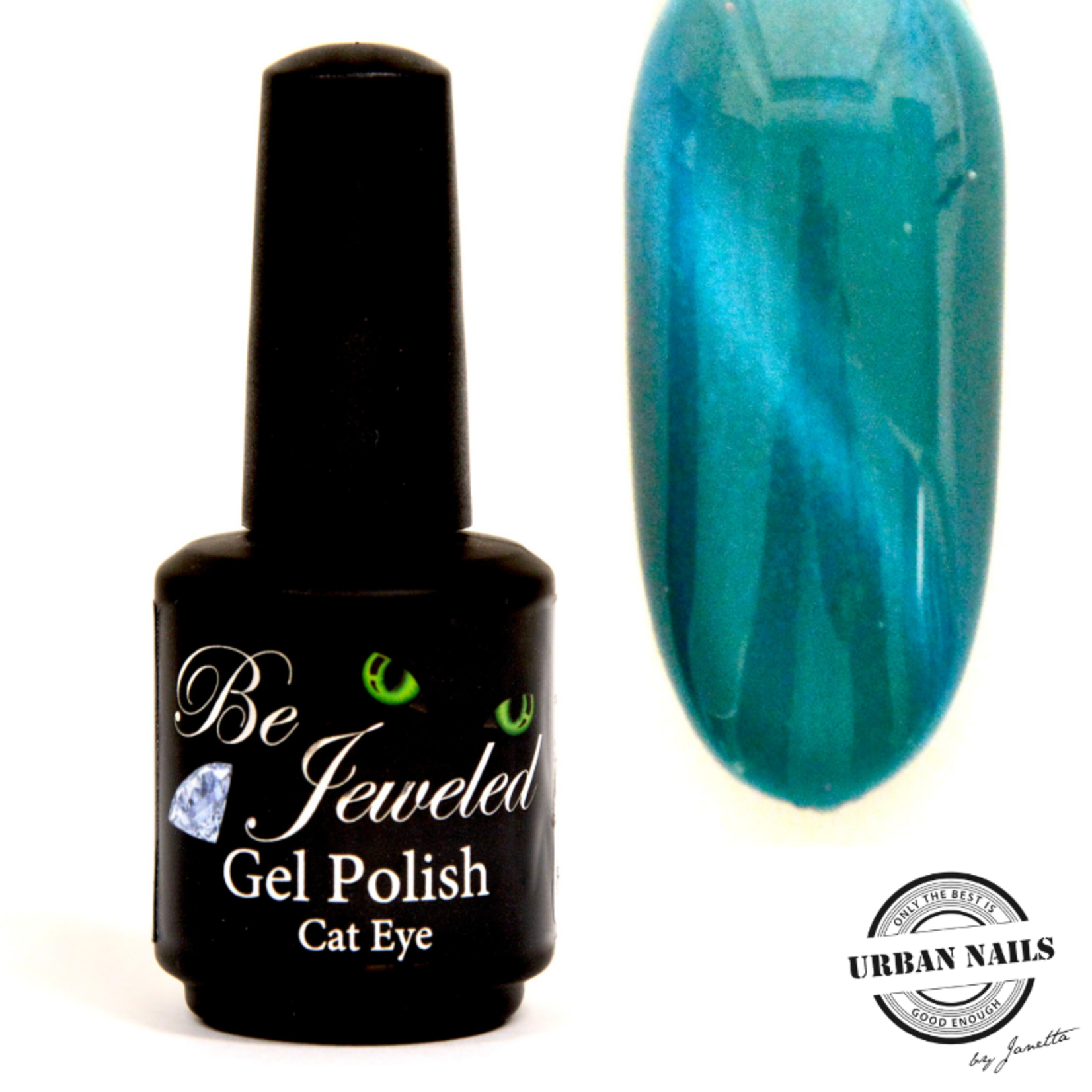 Urban Nails Be Jeweled Cateye 12 Turquoise