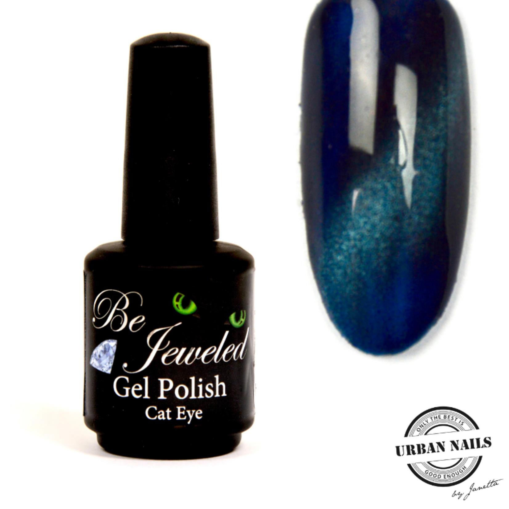Urban Nails Be Jeweled Cateye 16 Blauw