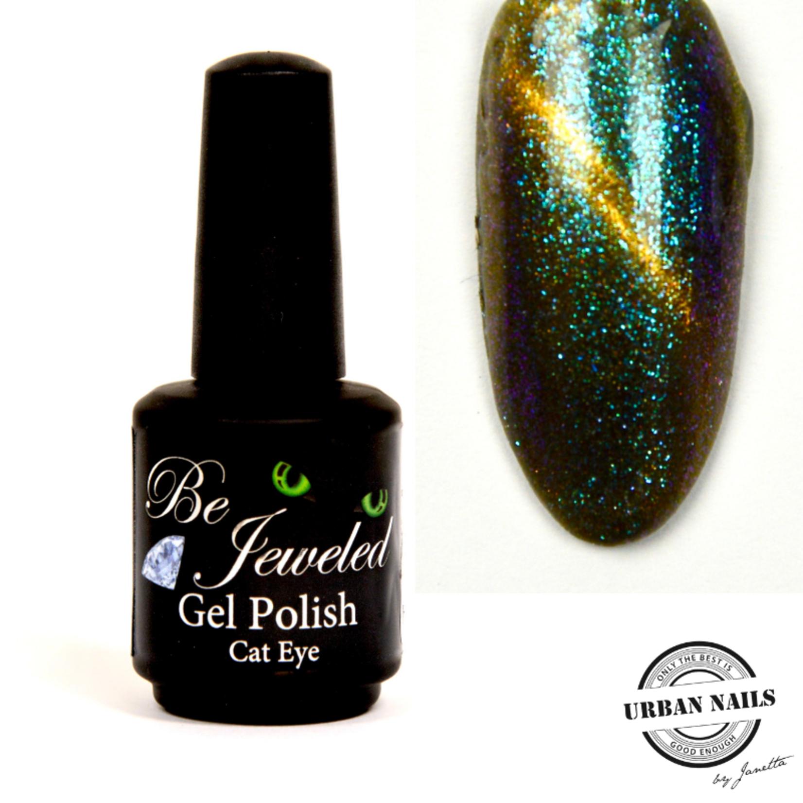 Urban Nails Be Jeweled Cateye 33 Groen Goud