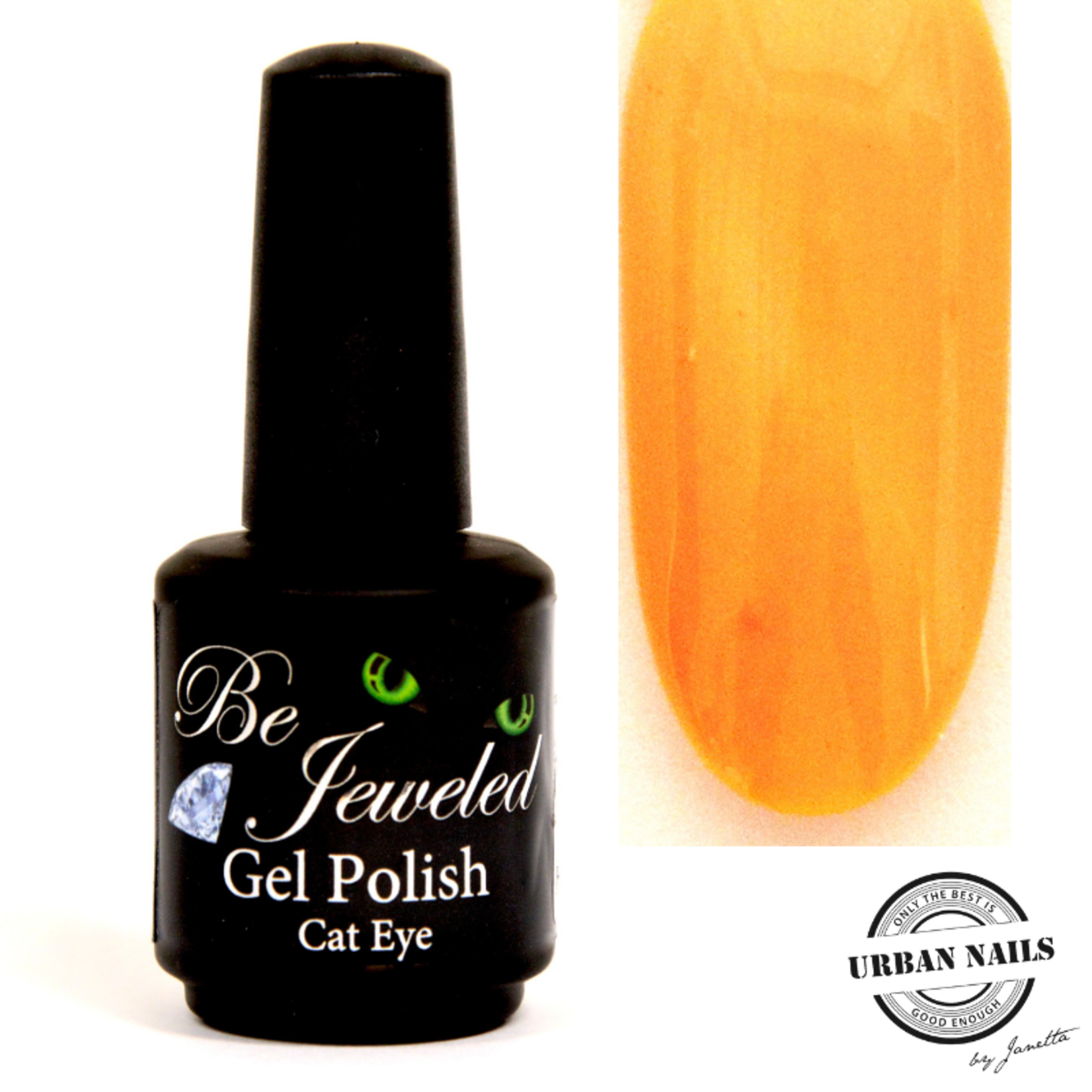 Urban Nails Be Jeweled Cateye 46 Licht Oranje