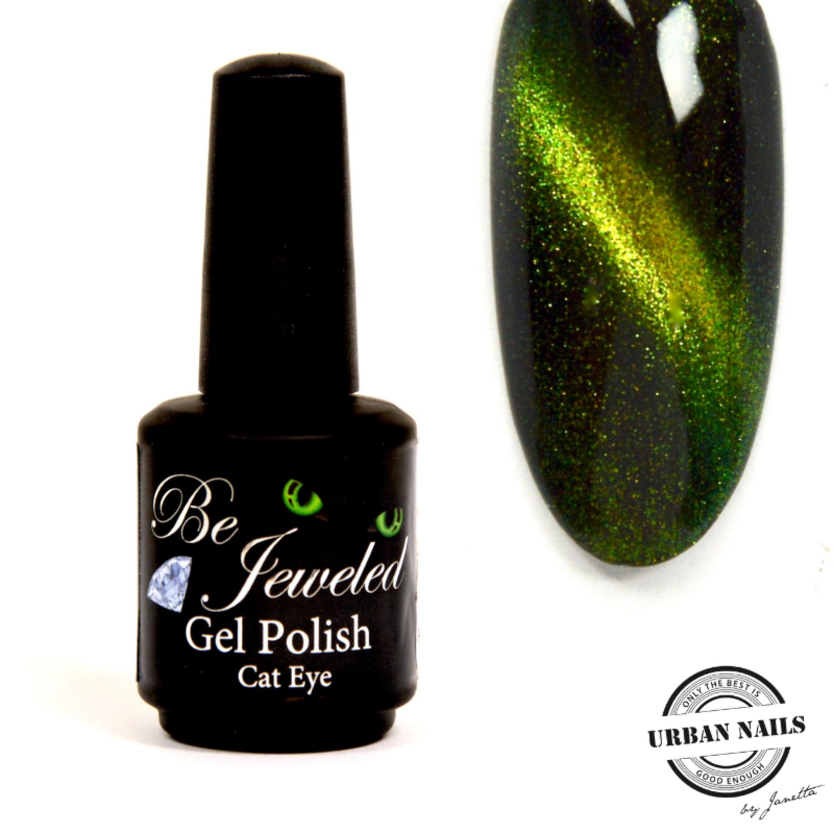 Urban Nails Be Jeweled Cateye 56 (Chameleon) Geel Groen