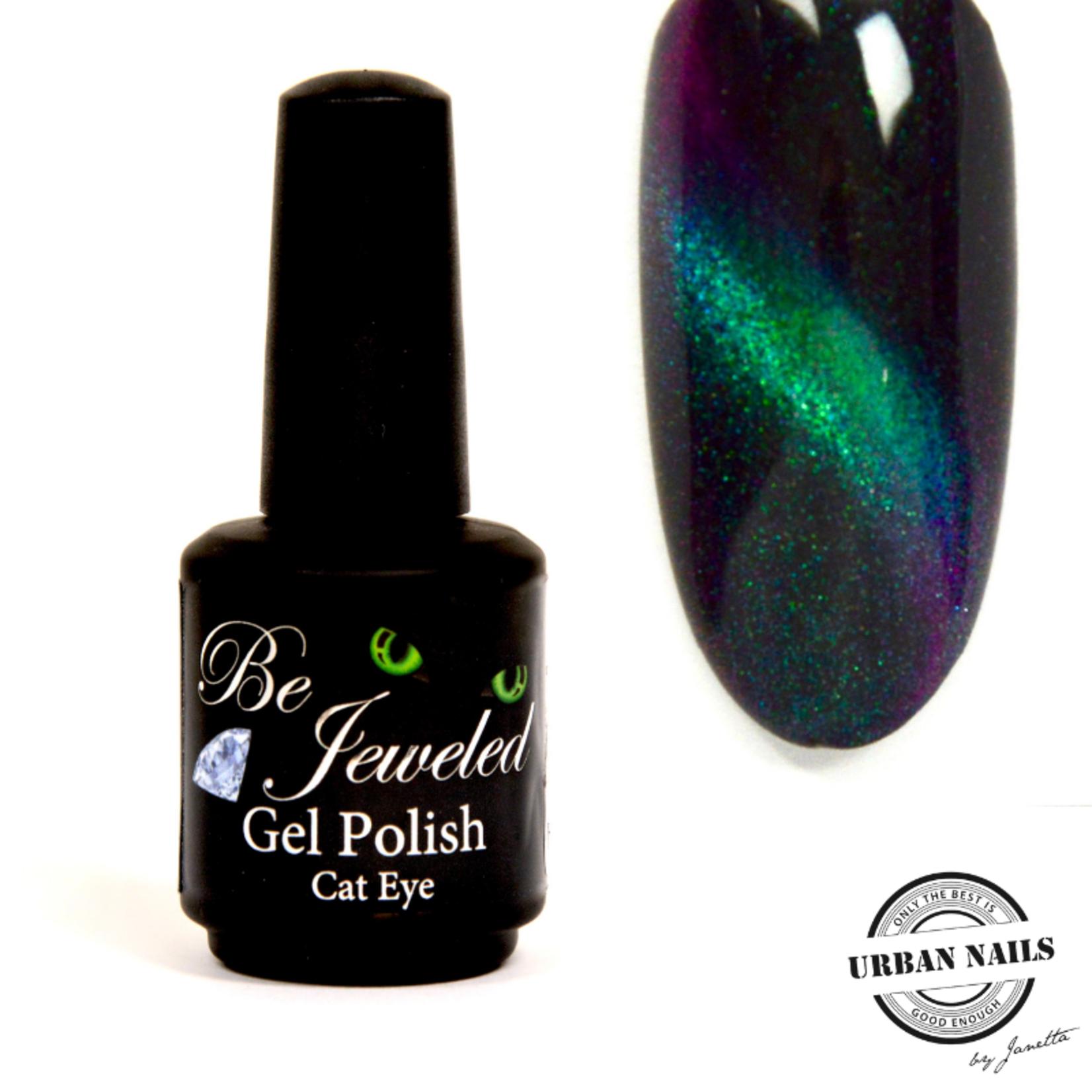 Urban Nails Be Jeweled Cateye 58 (Chameleon) Donker Groen Blauw