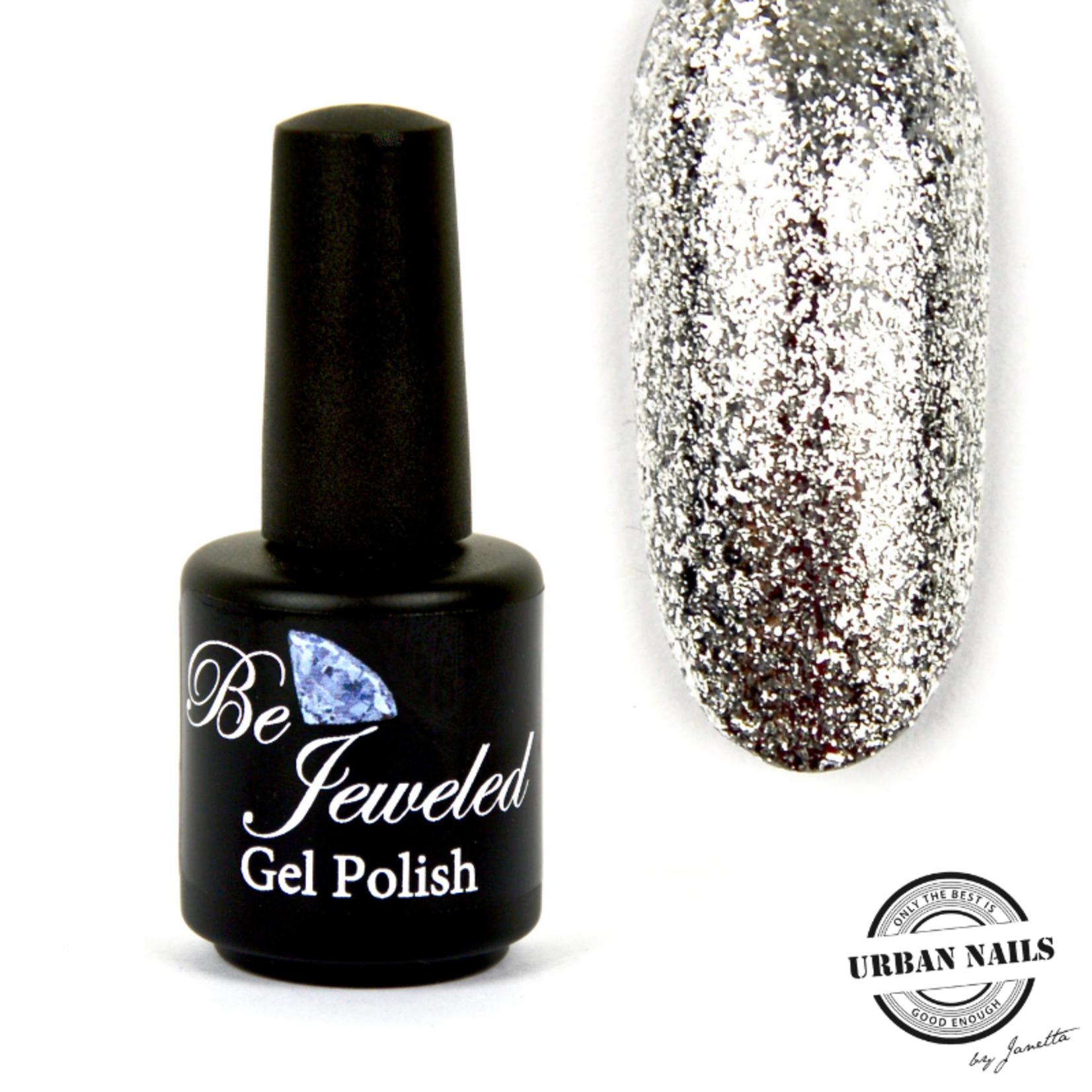 Urban Nails Be Jeweled Gelpolish 17 Zilver Glitter