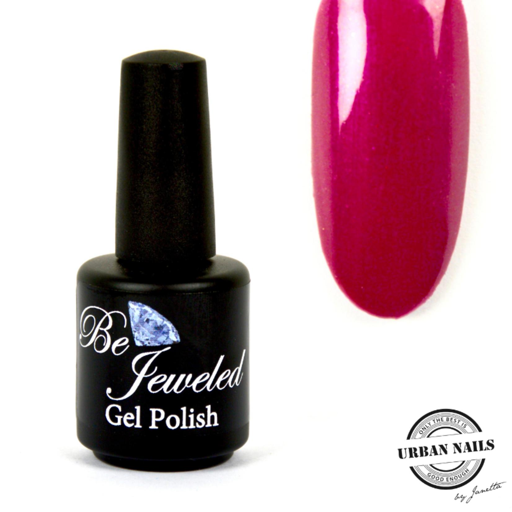 Urban Nails Be Jeweled Gelpolish 19 Donker Roze Met Shimmer