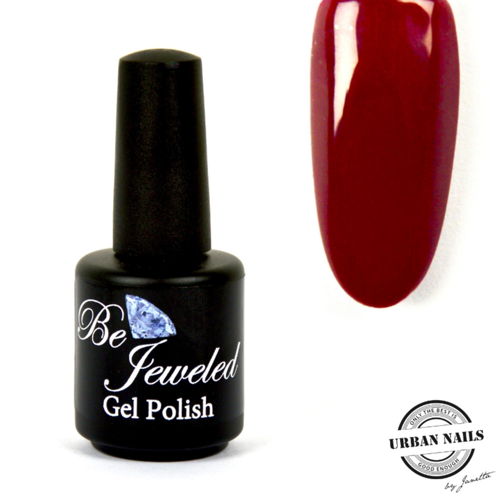 Urban Nails Be Jeweled Gelpolish 20 Wijn Rood